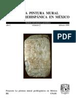 Pintura Mural Prehispánica en México