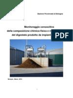 ARPA E-R, Monitoraggio Digestato 2013 Copy