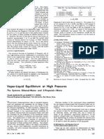 Vapor-Liquid Equilibrium at High Pressures (1)