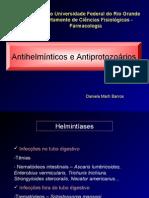 Antihelminticos e Antiprotozoários