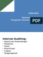Pertemuan 1 - Pengantar Internal Auditing