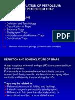 Petroleum Traps