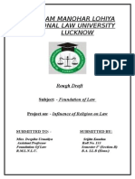 Foundation of law