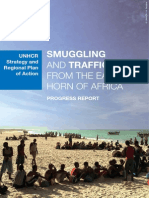 UNHCR Smuggling and Trafficking Progress Report Screen