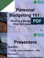 Smart Money Budgets
