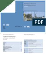 HIA of Housing Improvements a Guide - HS MRC Scotland - 2003