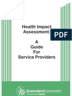 HIA a Guide for Service Providers - QH Australia - 2003
