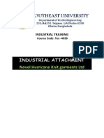 Industrial Attachment of Novelhurricane Knit Garmentsltd