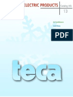 TECA Catalog Full(Thermoelectric Product Chiller)