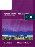 HIA a Practical Guide - NSW Health CHETRE Australia - 2007