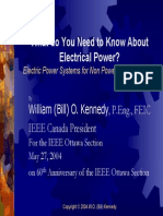 What Do You Need to Know About Electrica Power