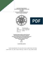 Laporan Praktikum pengendalian limbah industriAcara 2