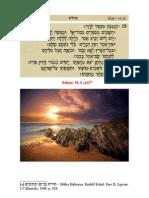Catequese - Hino a Deus Criador - Salmo 18