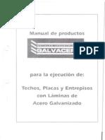 Manual de Productos Galvacero