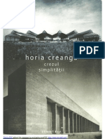 Crezul simplitatii - Horia Creanga