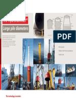 Offshore Large Pile Diameters Landscape