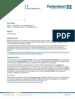 Ass 1 I7401 Presentation 2015-07-1