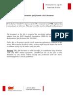SRS Development of Web GIS Tool IEEE SA 830 SRS Format Final 27082013