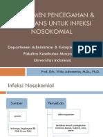 Manajemen Pencegahan Surveilans Untuk Infeksi Nosokomial