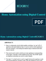 Home Automation Using Digital Control