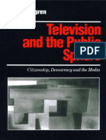 (Media Culture & Society Series) Peter Dahlgren-Television and the Public Sphere_ Citizenship, Democracy and the Media-SAGE Publications Ltd (1995)