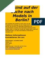 Modelagentur Berlin