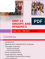 Groups and Group Dynamics