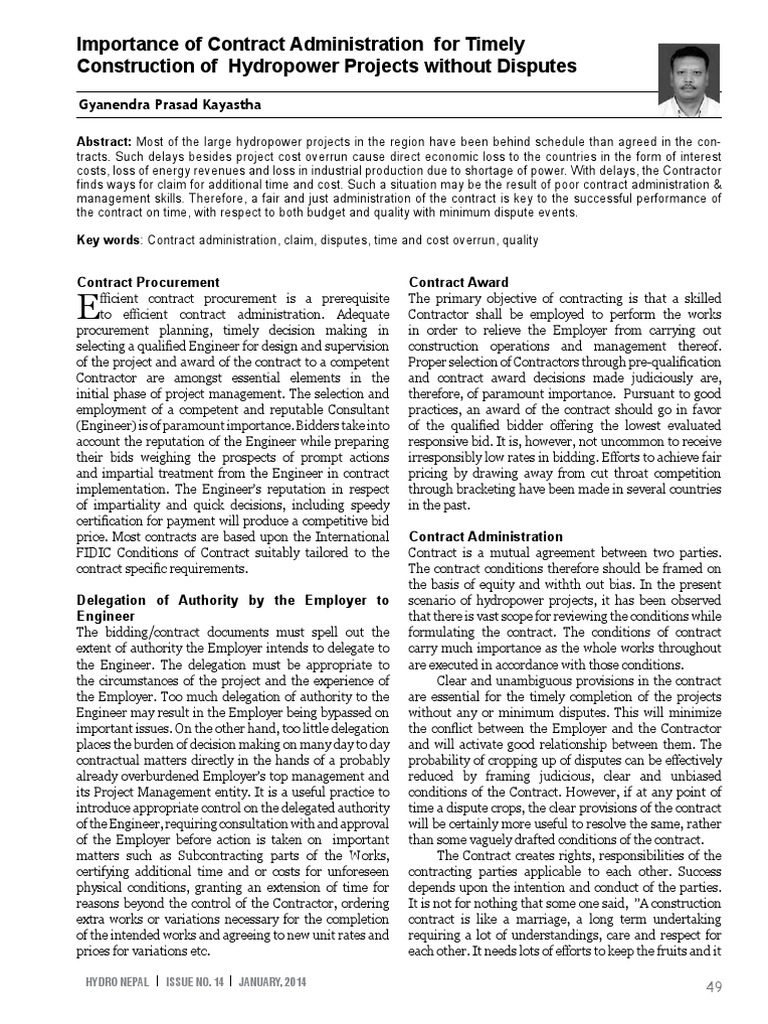 Case study for contract management hydro power projectspdf case study for contract management hydro power projectspdf hydroelectricity general contractor fandeluxe Images