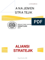 SM9.2012 Strategi Aliansi Stratejik