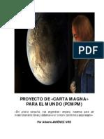 Proyecto de Carta Magna Para El Mundo
