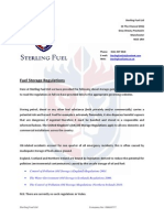 UK Fuel Storage Regulations - Sterling Fuel Ltd