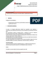 G01. Interpretación de Planos de Obra Gruesa.