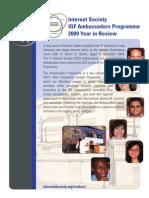IGF Ambassador 2009 Programme in Review