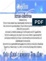 Ferias Coletivas 2014 Mogiglass
