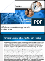 Kite Corporate Presentation 4-15-15 - Jefferies Immuno-Oncology Summit