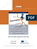 COSO Improving Organizational Performance and Governance