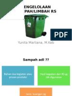 PENGELOLAAN SAMPAH & LIMBAH
