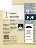 the daily roosevelt
