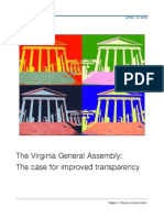 Transparency Va Report Released
