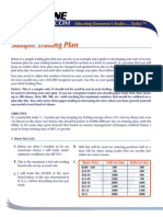 Sample Trading Plan