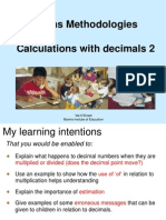 powerpoint decimals 2