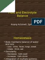 Water Fluid Balance