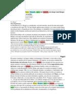 Ideas Semióticas en Pierre Menard