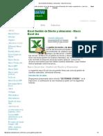 Excel Gestión de Stocks y Almacenes - Macro Excel Vba
