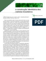 A Conflitante Construção Identitária Dos Josrnalistas