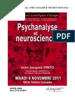 """Resumo da conferencia """"PSICANÁLISE E NEUROCIÊNCIAS"""""""
