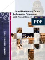IGF Ambassador 2008 Programme in Review
