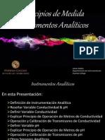 Principios de Medida - Instrumentos Analticos