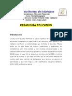 Ensayo paradigma educativo
