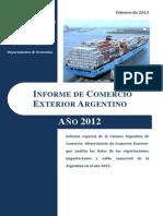 48_Informe de Comercio Exterior 2012